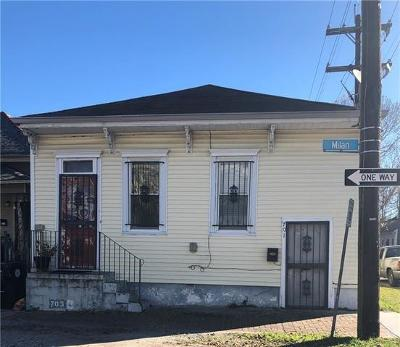 New Orleans Single Family Home For Sale: 701 Milan Street