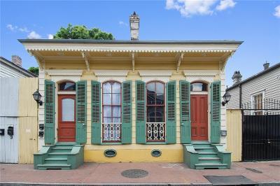 French Quarter Multi Family Home For Sale: 918 St Peter Street