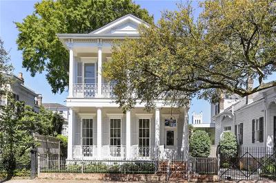New Orleans Single Family Home For Sale: 2919 Prytania Street