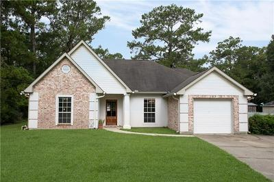 Madisonville LA Single Family Home For Sale: $209,000