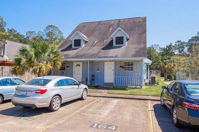 Slidell Multi Family Home For Sale: 164 Village Drive #164