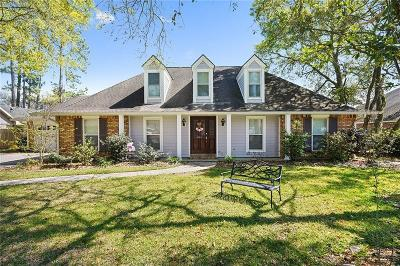 Slidell Single Family Home For Sale: 881 Cross Gates Boulevard