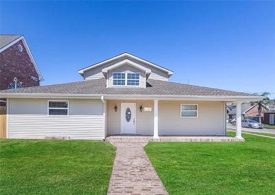 Mereaux, Meraux Single Family Home For Sale: 2912 Mayflower Street