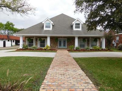 Kenner Single Family Home For Sale: 3016 Palm Vista Drive