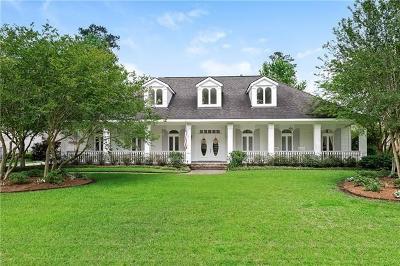 Single Family Home For Sale: 523 Beau Chene Drive