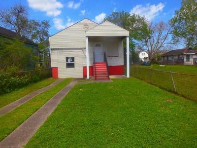 New Orleans Single Family Home For Sale: 3121 N Johnson Street