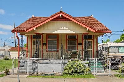 Jefferson Parish, Orleans Parish Multi Family Home For Sale: 1404 Lesseps Street