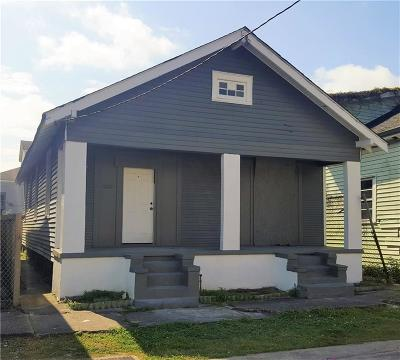 Single Family Home For Sale: 2504 S Prieur Street