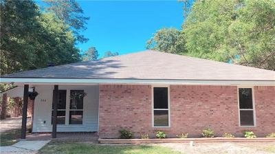 Madisonville Single Family Home For Sale: 304 Brewster Road