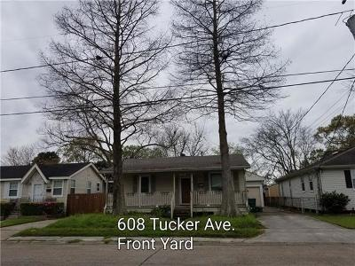 Jefferson Single Family Home For Sale: 608 Tucker Avenue