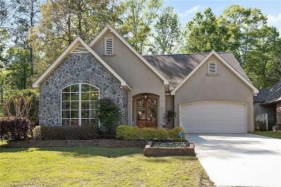 Madisonville Single Family Home For Sale: 219 Bellingrath Place