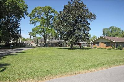 River Ridge, Harahan Residential Lots & Land For Sale: Elizabeth Avenue