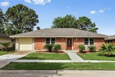 Kenner Single Family Home For Sale: 9 Boimare Avenue