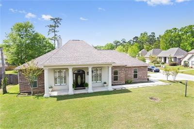 Madisonville Single Family Home For Sale: 133 Timberwood Drive