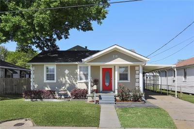 River Ridge, Harahan Single Family Home For Sale: 216 Mayo Avenue