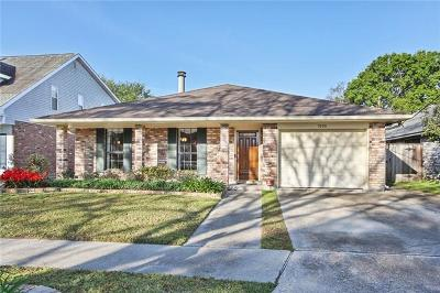 Kenner Single Family Home For Sale: 5208 David Drive