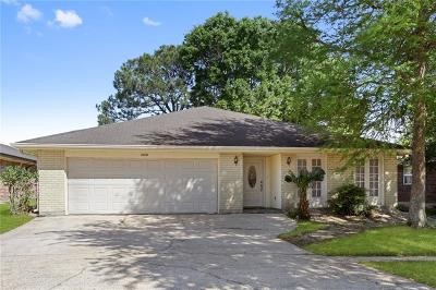 Kenner Single Family Home For Sale: 4140 Cognac Drive
