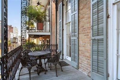 French Quarter Multi Family Home For Sale: 835 St Louis Street #D