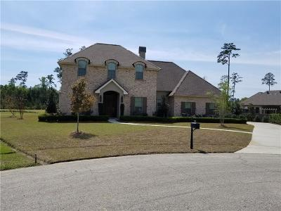 Madisonville Single Family Home For Sale: 208 Merion Circle