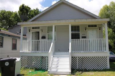 Jefferson Parish, Orleans Parish Multi Family Home For Sale: 2009-11 Lawrence Street