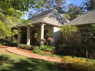 Madisonville Single Family Home For Sale: 239 Perrilloux Road