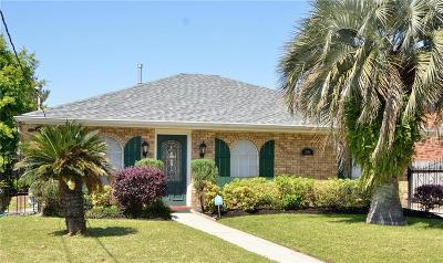 Metairie Single Family Home For Sale: 2916 Lemon Street