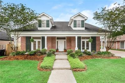 Kenner Single Family Home For Sale: 4804 Rebecca Boulevard