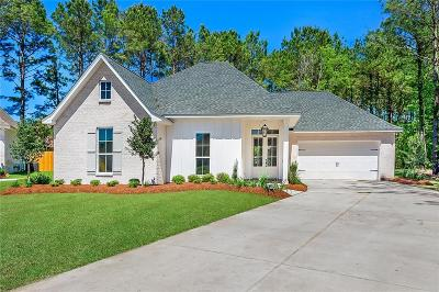 Madisonville Single Family Home For Sale: 1232 Sweet Clover Way