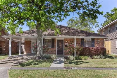 Metairie Single Family Home For Sale: 2124 Danny Park Drive