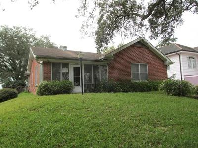 Single Family Home For Sale: 3584 Gentilly Boulevard