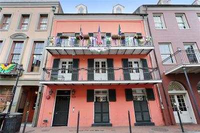 French Quarter Multi Family Home For Sale: 528 St Louis Street #1