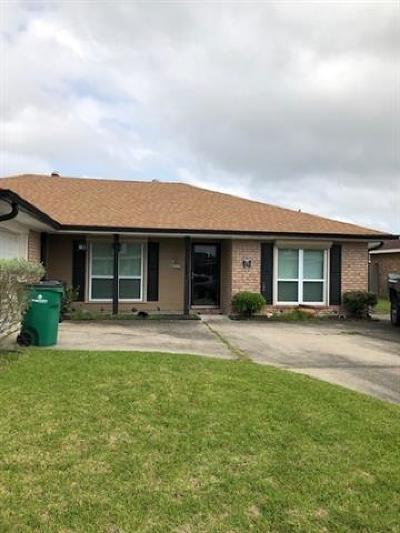 Marrero Single Family Home For Sale: 2529 Jarrot Drive