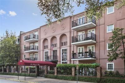 Jefferson Parish, Orleans Parish Multi Family Home For Sale: 3000 St Charles Avenue #405
