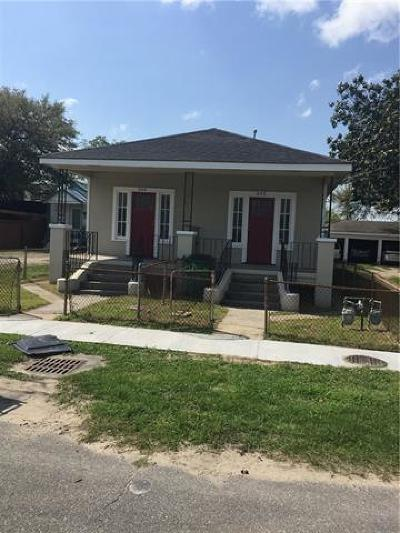 Westwego Single Family Home For Sale: 344 Ave B Avenue