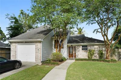 Kenner Single Family Home For Sale: 4122 Platt Street