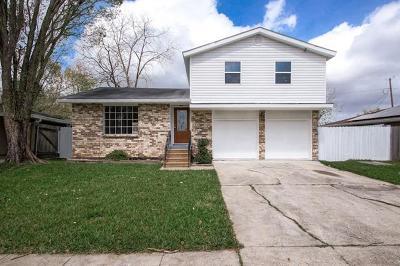 Marrero Single Family Home For Sale: 2817 Dovee Avenue