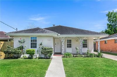 Single Family Home For Sale: 3121 Metairie Court