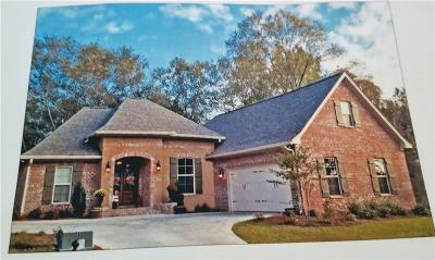 Kenner Single Family Home For Sale: Lot 118 Dogwood Drive