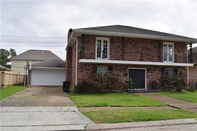 Kenner Single Family Home For Sale: 54 Schill Avenue