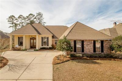 Madisonville Single Family Home For Sale: 429 Belle Pointe Drive