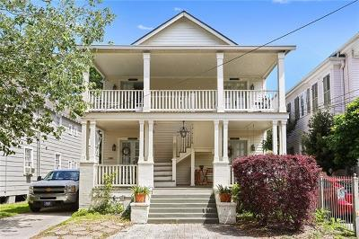 Jefferson Parish, Orleans Parish Multi Family Home For Sale: 1027 Leontine Street #Lower