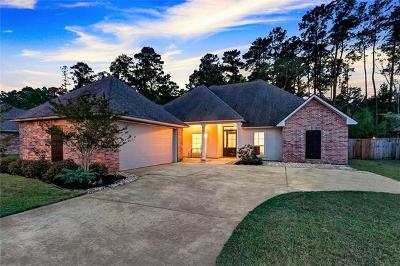 Madisonville Single Family Home For Sale: 508 English Oak Drive