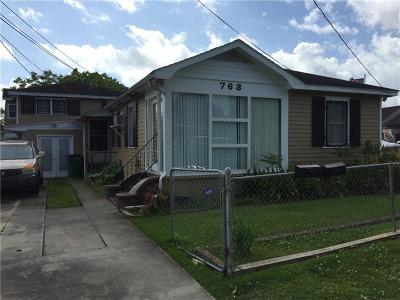 Westwego Single Family Home For Sale: 763 Avenue F