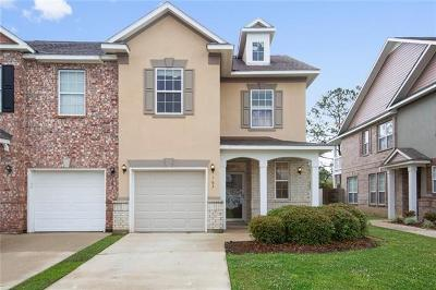 Madisonville Townhouse For Sale: 163 White Heron Drive