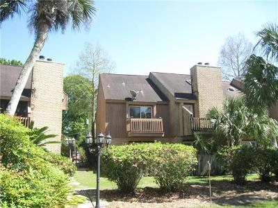 Destrehan Townhouse For Sale: 56 Ormond Place