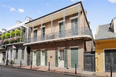 Jefferson Parish, Orleans Parish Multi Family Home For Sale: 1027 Chartres Street #F