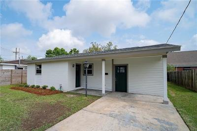 Westwego Single Family Home For Sale: 31 Helis Drive