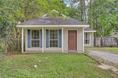 Madisonville Single Family Home For Sale: 140 Vista Street