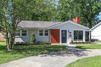 River Ridge, Harahan Single Family Home For Sale: 10416 Ware Street