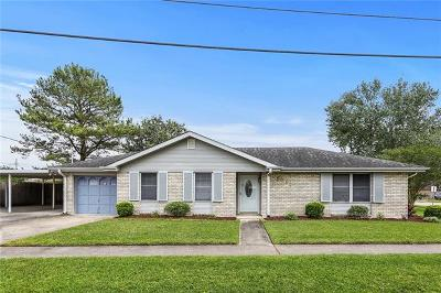 Kenner Single Family Home For Sale: 1611 Missouri Avenue